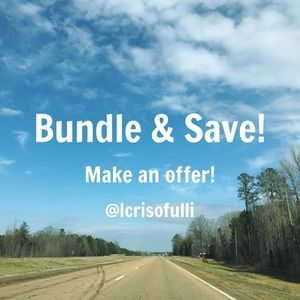 Bundle & Save! Accepting reasonable offers!